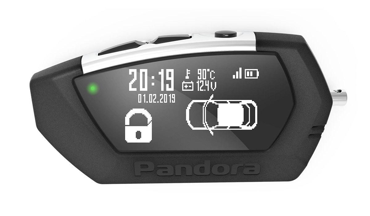 Брелок Pandora LCD D022 DX 91 LoRa автосигнализация pandora dx 91 lora v 2