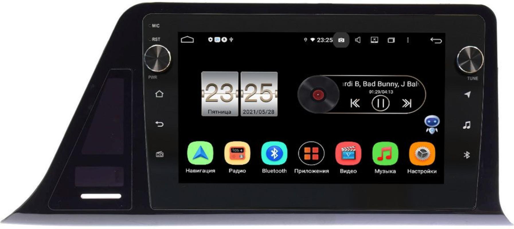 Штатная магнитола LeTrun BPX409-9400 для Toyota C-HR I 2016-2021 (правый руль)  на Android 10 (4/32, DSP, IPS, с голосовым ассистентом, с крутилками) (+ Камера заднего вида в подарок!)