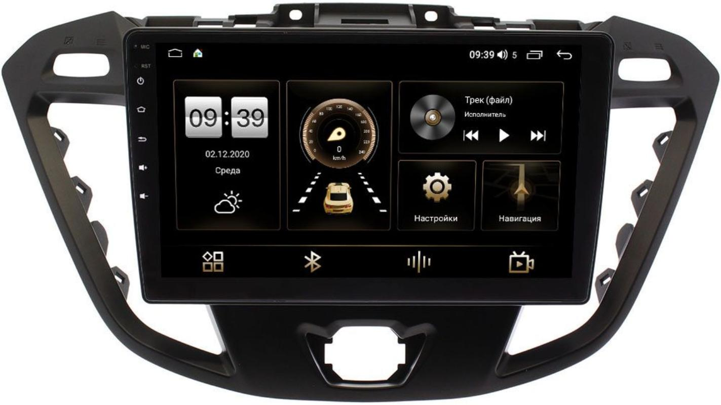 Штатная магнитола Ford Transit, Tourneo Custom 2012-2021 (без CD) LeTrun 4166-9177 на Android 10 (4G-SIM, 3/32, DSP, QLed) (+ Камера заднего вида в подарок!)