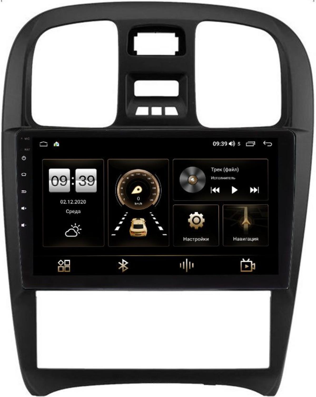 Штатная магнитола Hyundai Sonata IV (EF) 2001-2012 LeTrun 4196-9-268 на Android 10 (6/128, DSP, QLed) С оптическим выходом (+ Камера заднего вида в подарок!)