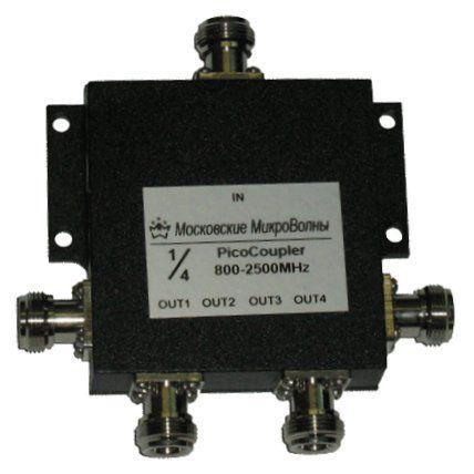 Делитель мощности PicoCoupler 800-2700МГц 1/4