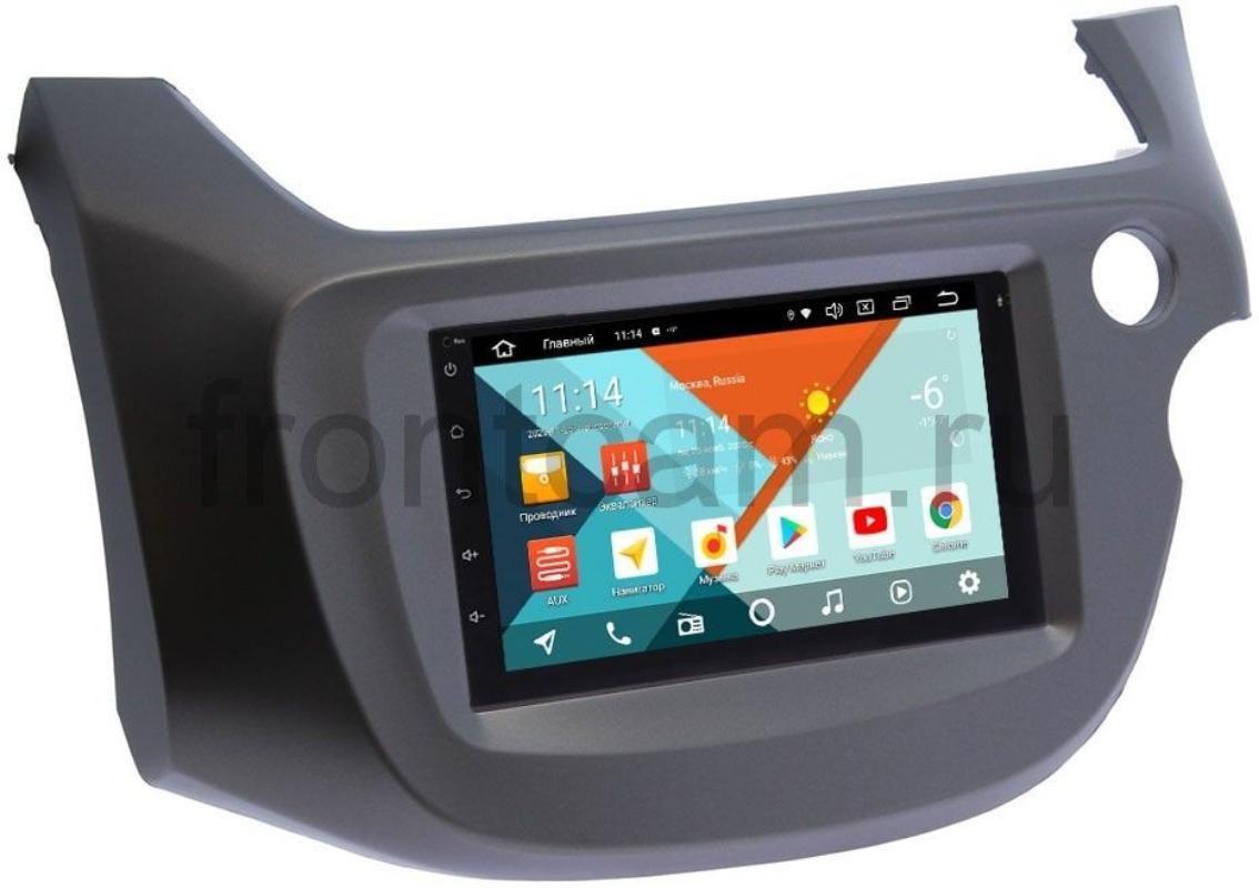 Магнитола в штатное место 2 din Honda Fit II, Jazz II 2008-2014 Wide Media KS7001QR-3/32-RP-HNFT3C-99 на Android 10 (DSP CarPlay 4G-SIM) (+ Камера заднего вида в подарок!)