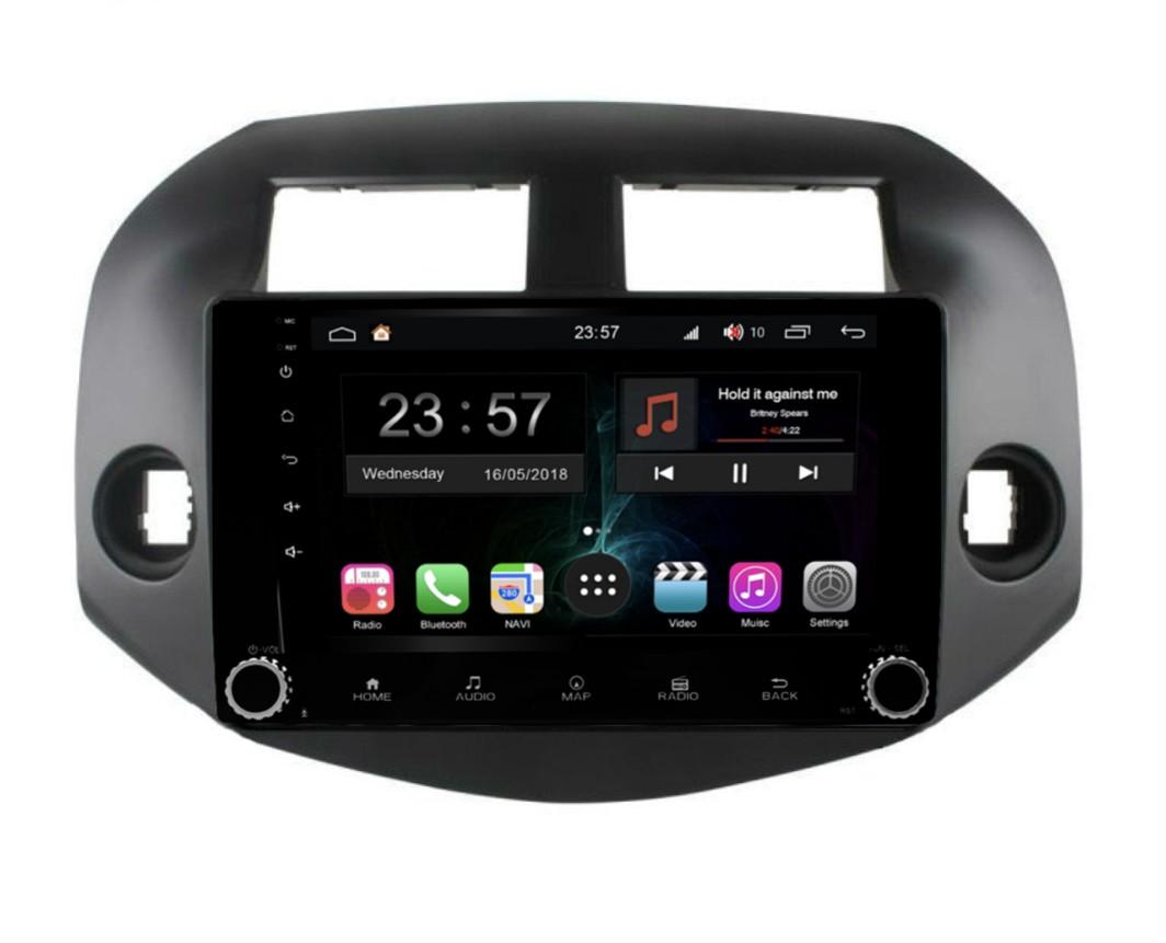 Штатная магнитола FarCar s300-SIM 4G для Toyota RAV-4 на Android (RG018RB) (+ Камера заднего вида в подарок!)