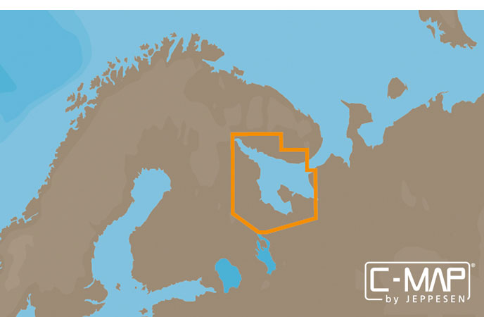 Карта C-MAP RS-N233 - Белое море и канал