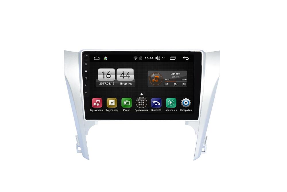 Штатная магнитола FarCar s175 для Toyota Camry 2012+ на Android (L131R) автомобильный коврик seintex 84980 для toyota camry