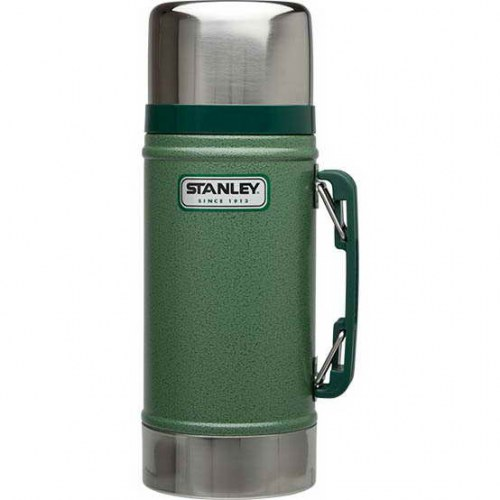 Термос Stanley Classic Legendary Food Flask (0.7л) зеленый электрическая вилка allocacoc powercube 4 usb 2a 5 250 16 3680w powercube socket eu plug