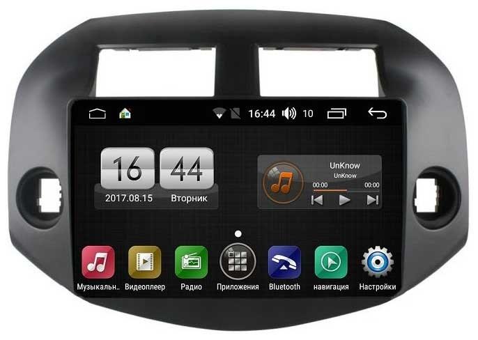 Штатная магнитола FarCar s195 для Toyota Rav-4 2006-2012 на Android (LX018R) (+ Камера заднего вида в подарок!)