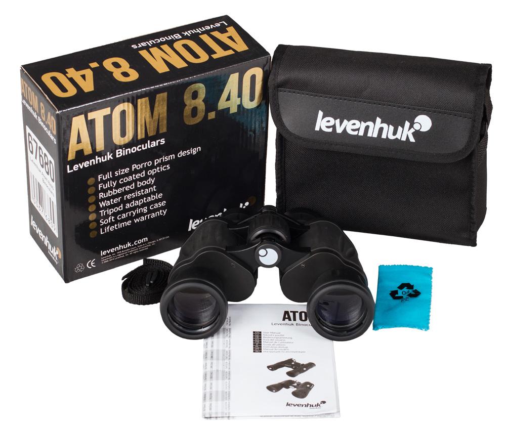 Бинокль Levenhuk Atom 8x40 цена и фото