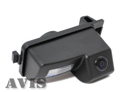 CMOS штатная камера заднего вида AVIS AVS312CPR для NISSAN GT-R / TIIDA HATCHBACK / 350Z (#062)