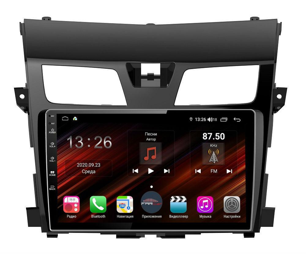 Штатная магнитола FarCar s400 Super HD для Nissan Teana на Android (XH2004R) (+ Камера заднего вида в подарок!)