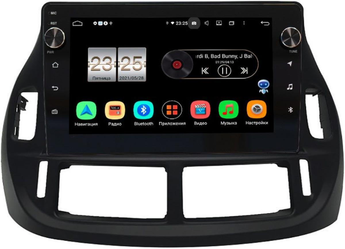 Штатная магнитола LeTrun BPX609-9300 для Toyota Estima II 2000-2006, Previa II 2000-2006) на Android 10 (4/64, DSP, IPS, с голосовым ассистентом, с крутилками) (+ Камера заднего вида в подарок!)
