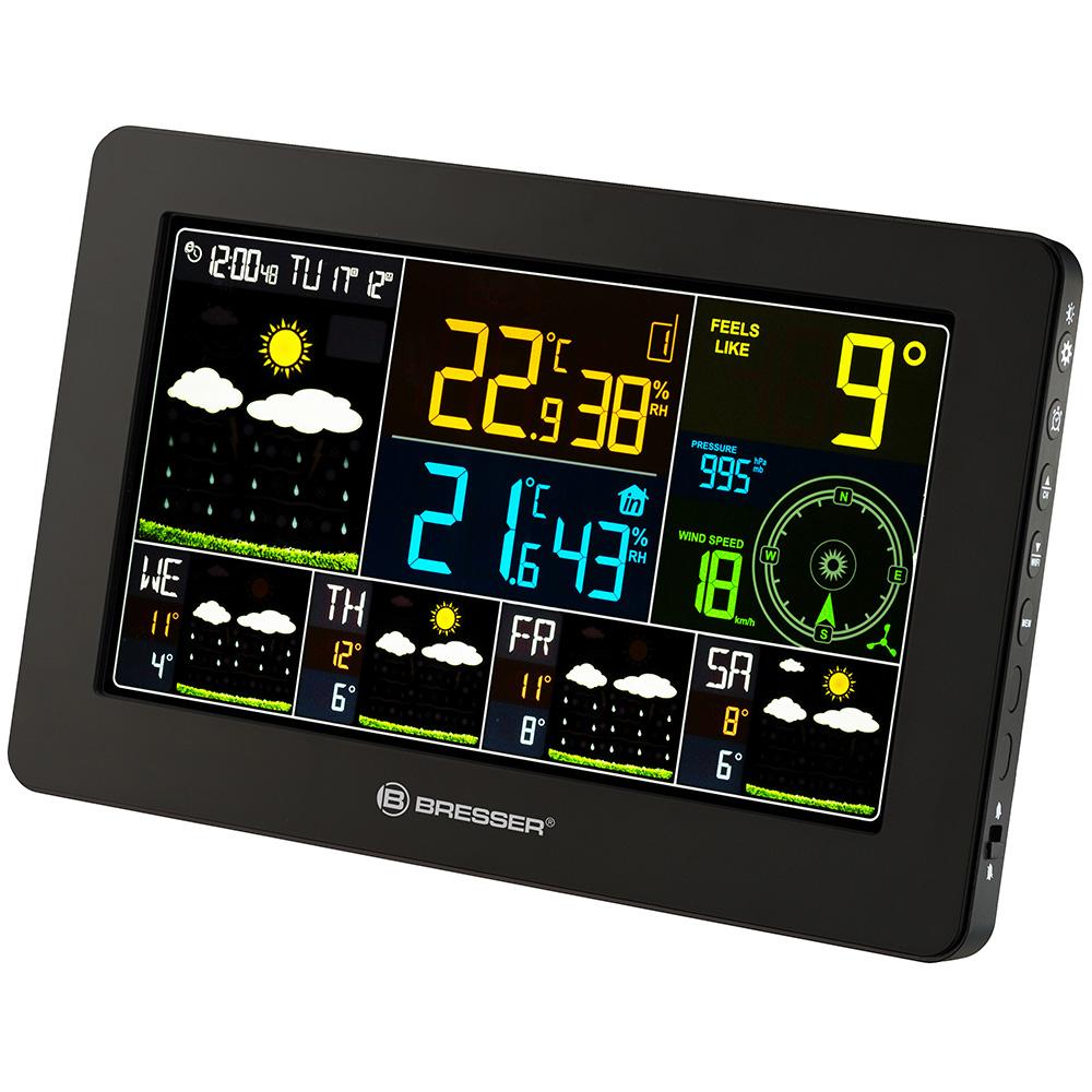 Метеостанция Bresser 4CAST Wi-Fi (+ Автомобильные коврики для впитывания влаги в подарок!)