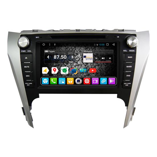 Штатная магнитола DayStar DS-7048HD Toyota Camry V50 ANDROID 8.1.0 (8 ядер, 2Gb ОЗУ, 32Gb памяти) pipo w4s dual boot 8 inch 2gb 32gb windows8 1
