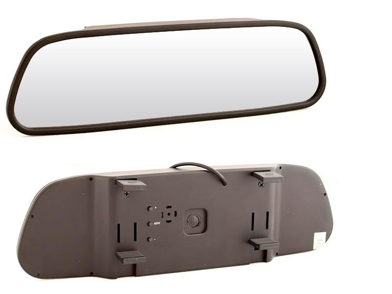 Зеркало заднего вида с монитором 5 AVIS AVS0501BM зеркало заднего вида стихотворения