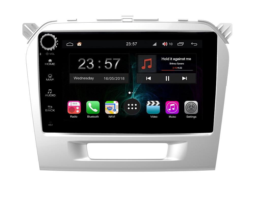 Штатная магнитола FarCar s300-SIM 4G для Suzuki Vitara 2015+ на Android (RG212/571RB) (+ Камера заднего вида в подарок!)