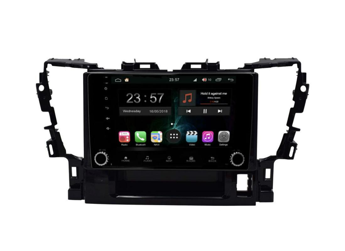 Штатная магнитола FarCar s300-SIM 4G для Toyota Alphard на Android (RG564RB) (+ Камера заднего вида в подарок!)