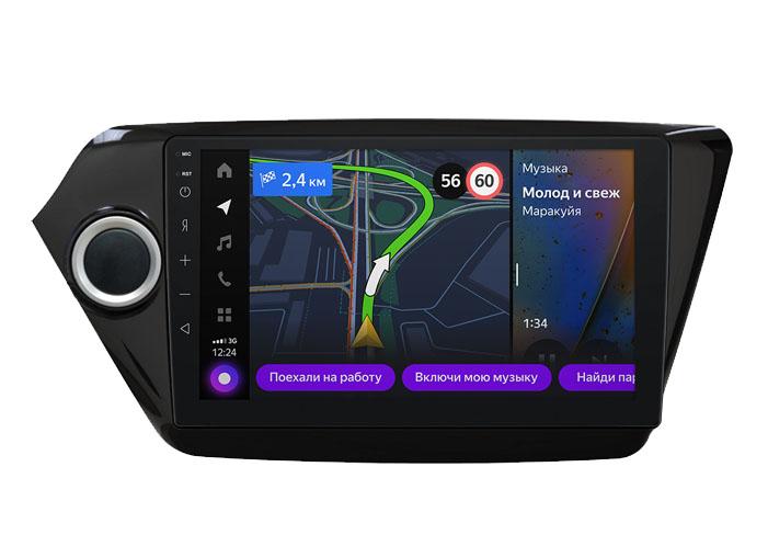 Мультимедийная система Яндекс.Авто YA-KI05-1A для KIA RIO 2011-2017 (+ Камера заднего вида в подарок!)