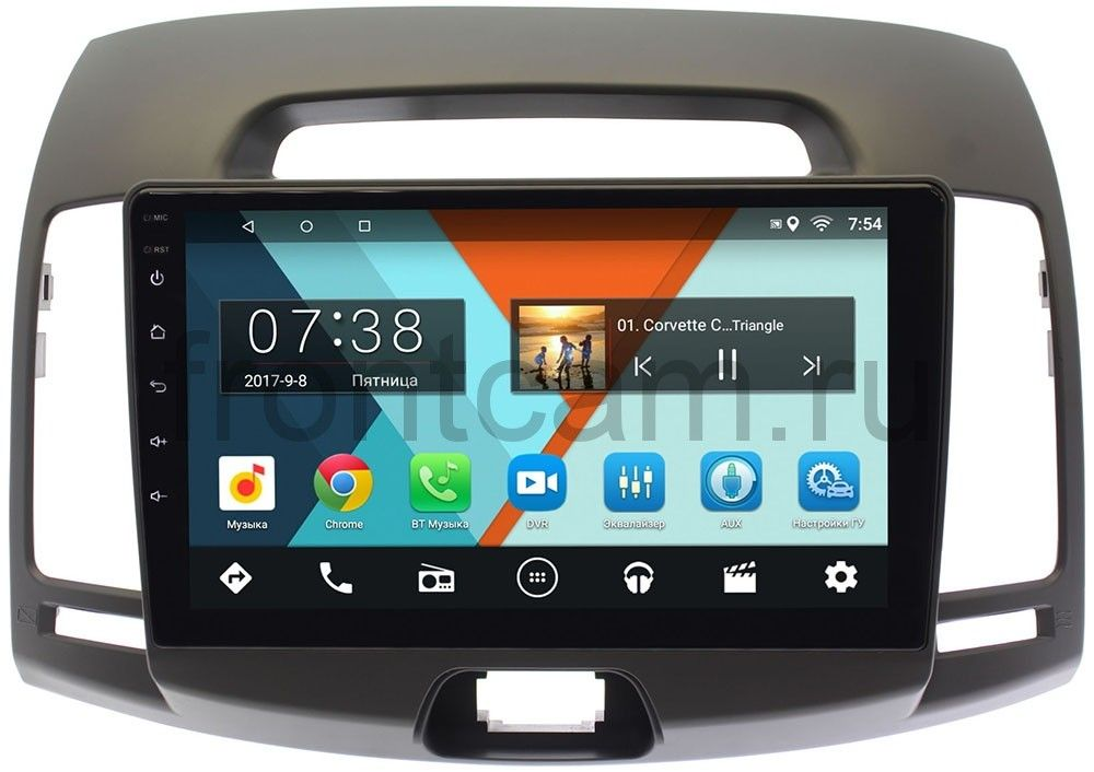 Штатная магнитола Hyundai Elantra IV (HD) 2006-2011 Wide Media MT9077MF-2/16 Android 7.1.1 (+ Камера заднего вида в подарок!)