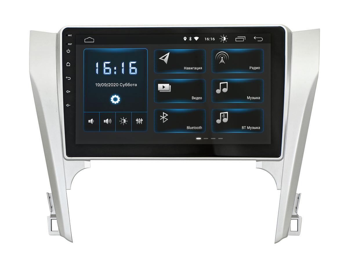 Штатная магнитола Incar XTA-2205 для Toyota Camry (2012+) Android 10 (+ Камера заднего вида в подарок!)