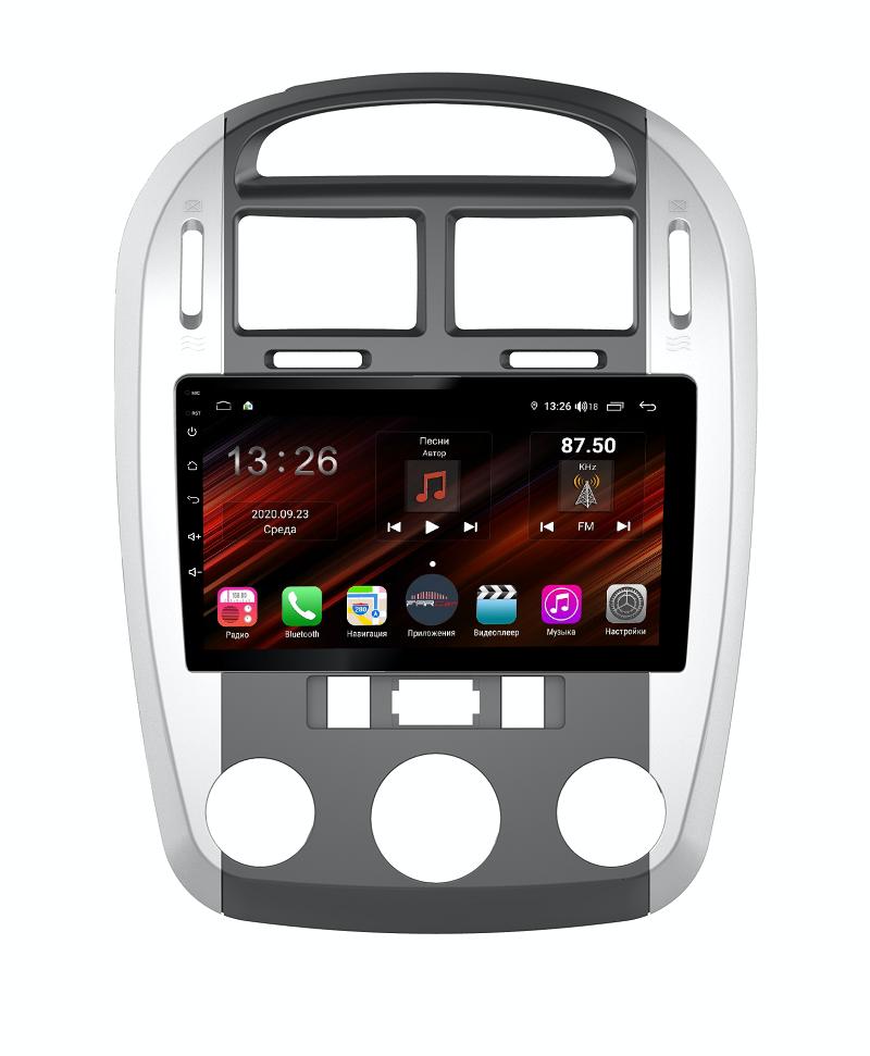 Штатная магнитола FarCar s400 Super HD для KIA Cerato на Android (XH046R) (+ Камера заднего вида в подарок!)
