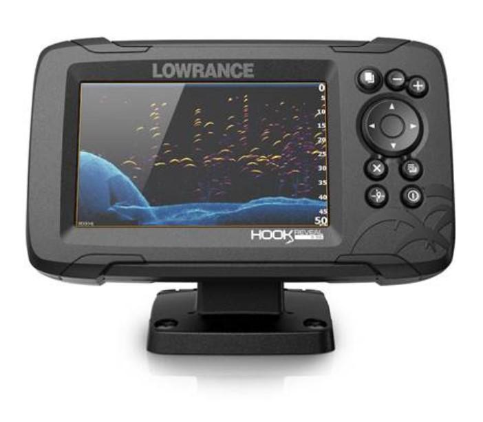 Картплоттер-эхолот Lowrance Hook Reveal 5 83/200 HDI ROW (+ Леска в подарок!)