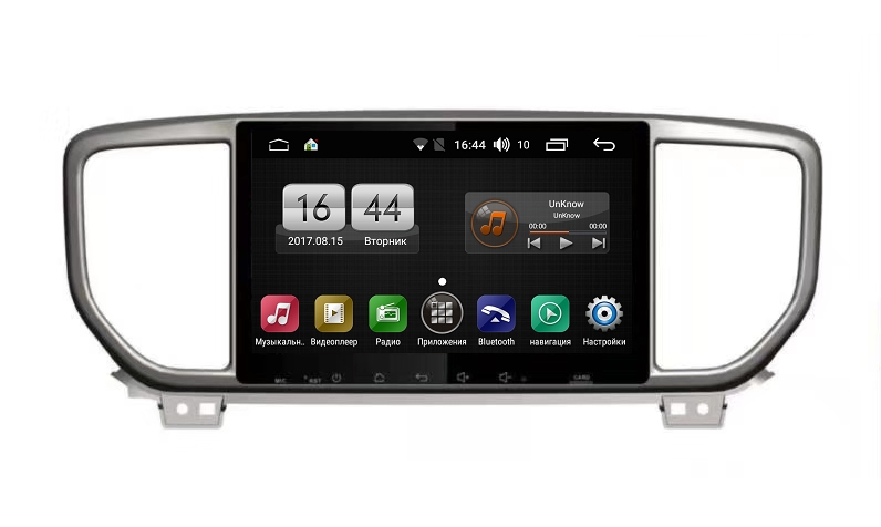 Штатная магнитола FarCar s185 для Kia Sportage IV 2018+ на Android (LY1143R) (+ Камера заднего вида в подарок!)