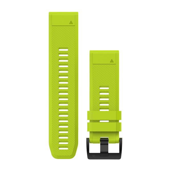 цены Garmin Ремешок сменный QuickFit 26 мм (силикон) желтый