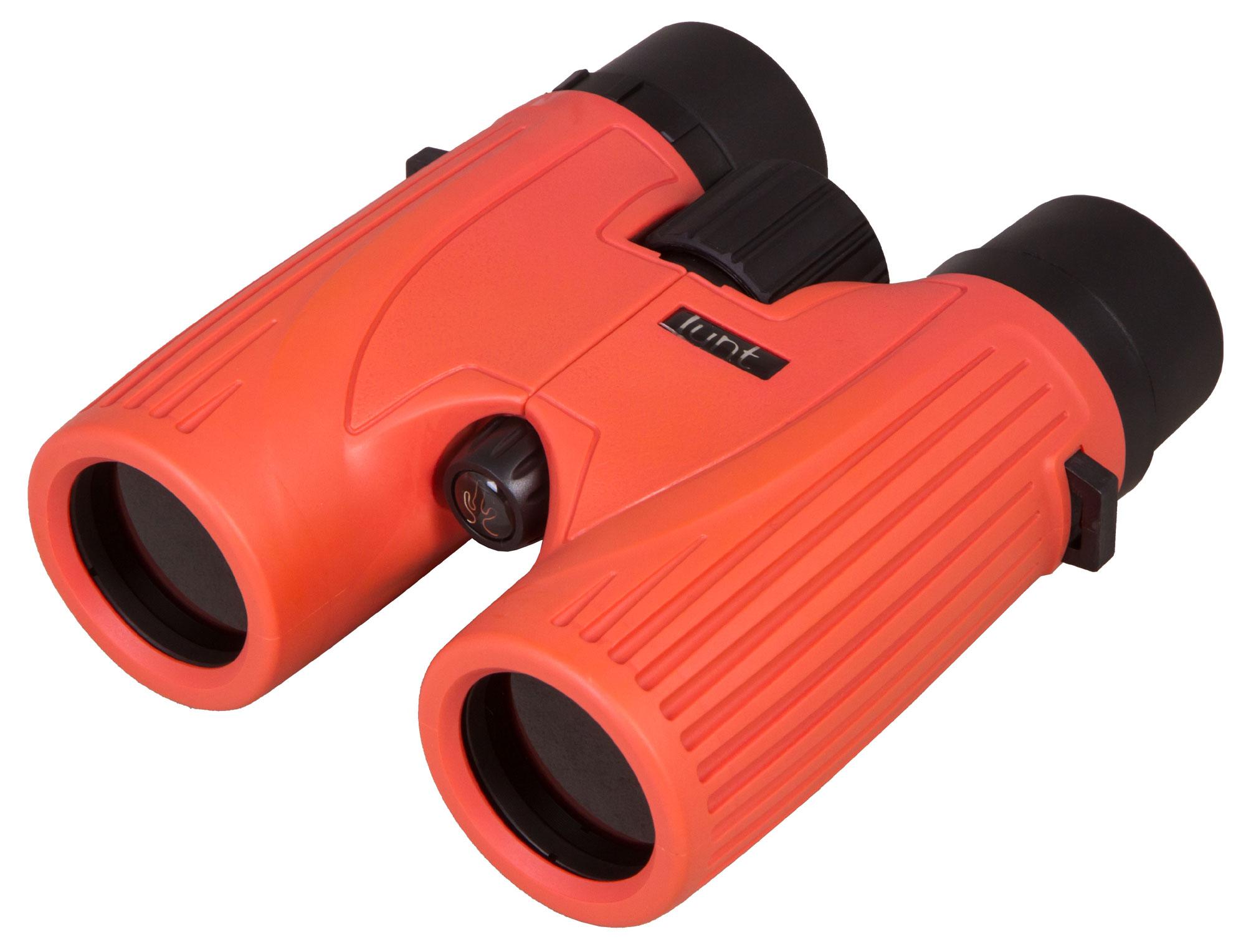 Бинокль солнечный LUNT SUNoculars 8x32, красный (+ Автомобильные коврики для впитывания влаги в подарок!)