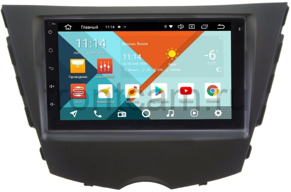 Магнитола для Hyundai Veloster I 2011-2016 Wide Media KS7001QR-3/32-RP-HDVL-108 на Android 10 (DSP CarPlay 4G-SIM) (+ Камера заднего вида в подарок!)