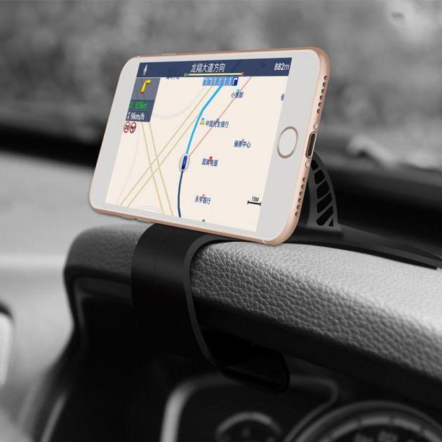 Автомобильный держатель для телефона на торпеду Baseus Mouth Car Mount - Черный (SUDZ-01) автомобильный держатель для телефона на торпеду baseus mouth car mount черный sudz 01