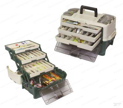 Ящик Plano 723300 с 3х уровневой системой хранения приманок