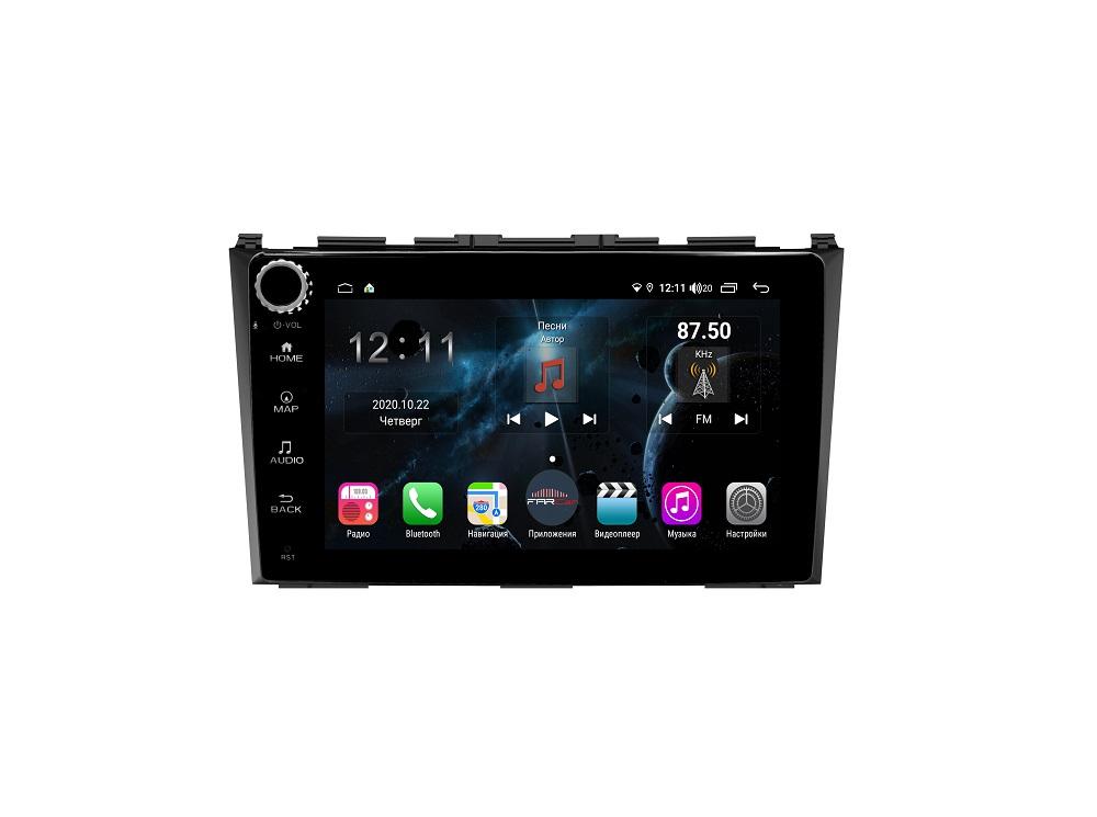 Штатная магнитола FarCar s400 для Honda CR-V на Android (H009RB) (+ Камера заднего вида в подарок!)