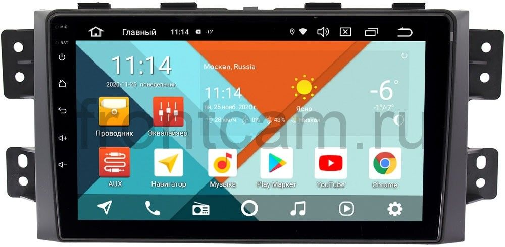 Штатная магнитола Kia Mohave I 2008-2018 Wide Media KS9142QM-2/32 DSP CarPlay 4G-SIM Android 10 (+ Камера заднего вида в подарок!)