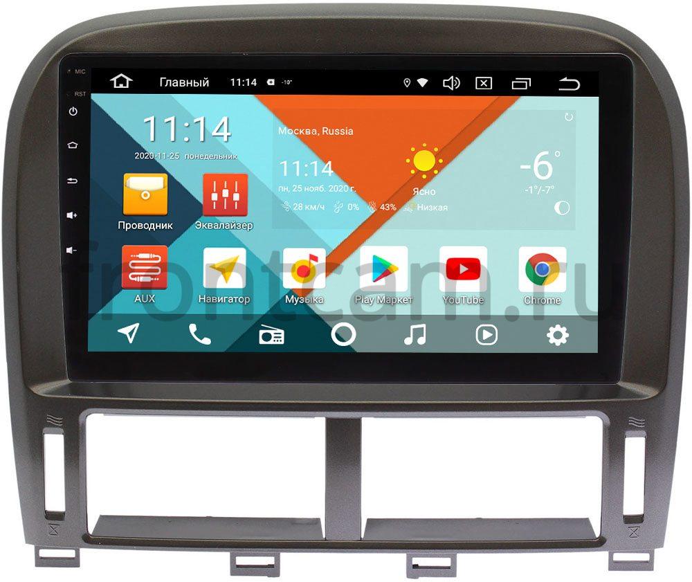 Штатная магнитола Lexus LS 430 III 2 (для авто с монитором) Wide Media KS9261QR-3/32 DSP CarPlay 4G-SIM Android 10 (+ Камера заднего вида в подарок!)