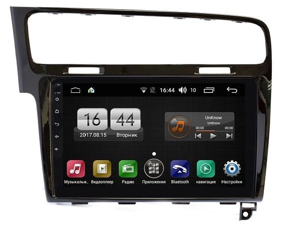 Штатная магнитола FarCar s195 для Volkswagen Golf 7 2013+ на Android (LX257R) (+ Камера заднего вида в подарок!)
