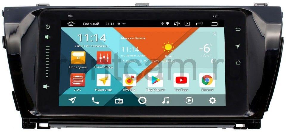 Штатная магнитола Toyota Corolla XI 2013-2015 Wide Media MT6901PK-2/16-RP-TYCRB-01 на Android 9.1 (DSP 3G-SIM) (+ Камера заднего вида в подарок!)