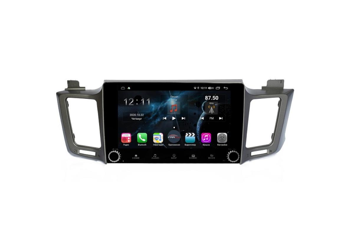 Штатная магнитола FarCar s400 для Toyota RAV-4 на Android (H468RB) (+ Камера заднего вида в подарок!)