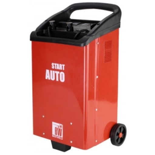 Пуско-зарядное профессиональное устройство BestWeld AUTOSTART 1500A (12/24В, 100/1000А)BestWeld<br>Супер сила для СТО! <br><br><br> Зарядка АКБ 12/24В 110-1200А/ч. Функция Boost. Запуск бензин/дизель 10/15л. <br><br><br> Max ток запуска 1000А. Max потребляемая мощность 2.5/20кВт. <br><br><br> Габариты 435*345*735мм. Вес 47кг.