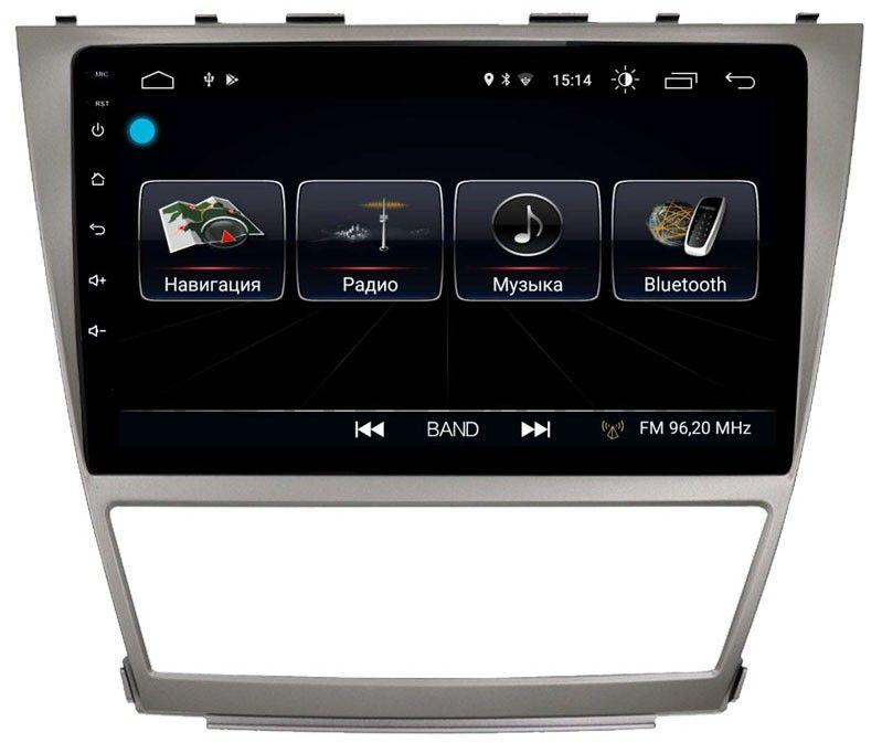 Штатная магнитола LeTrun 1882 для Toyota Camry V40 2006-2011 на Android 8.0.1 MTK-L 1Gb (+ Камера заднего вида в подарок!)