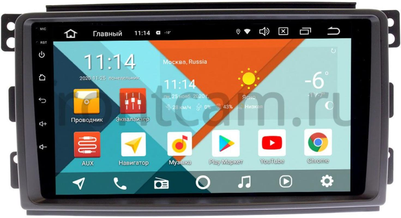 Штатная магнитола Smart Forfour (2004-2006) Wide Media KS9289QR-3/32 DSP CarPlay 4G-SIM Android 10 (+ Камера заднего вида в подарок!)