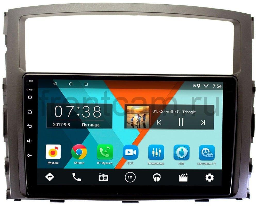Штатная магнитола Mitsubishi Pajero IV 2006-2018 для авто с Rockford Wide Media MT9070MF на Android 6.0.1 штатная магнитола mitsubishi pajero iv 2006 2018 для авто с rockford wide media mt9070mf на android 6 0 1