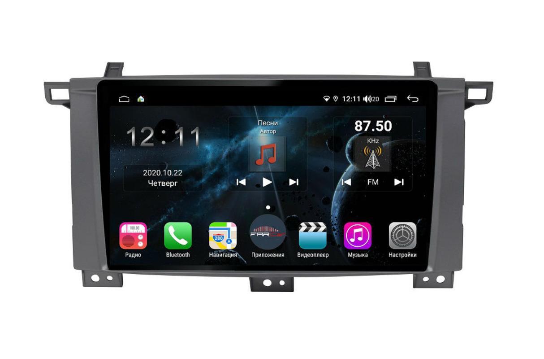 Штатная магнитола FarCar s400 для Toyota Land Cruiser 100 на Android (TG457/1234R) (+ Камера заднего вида в подарок!)