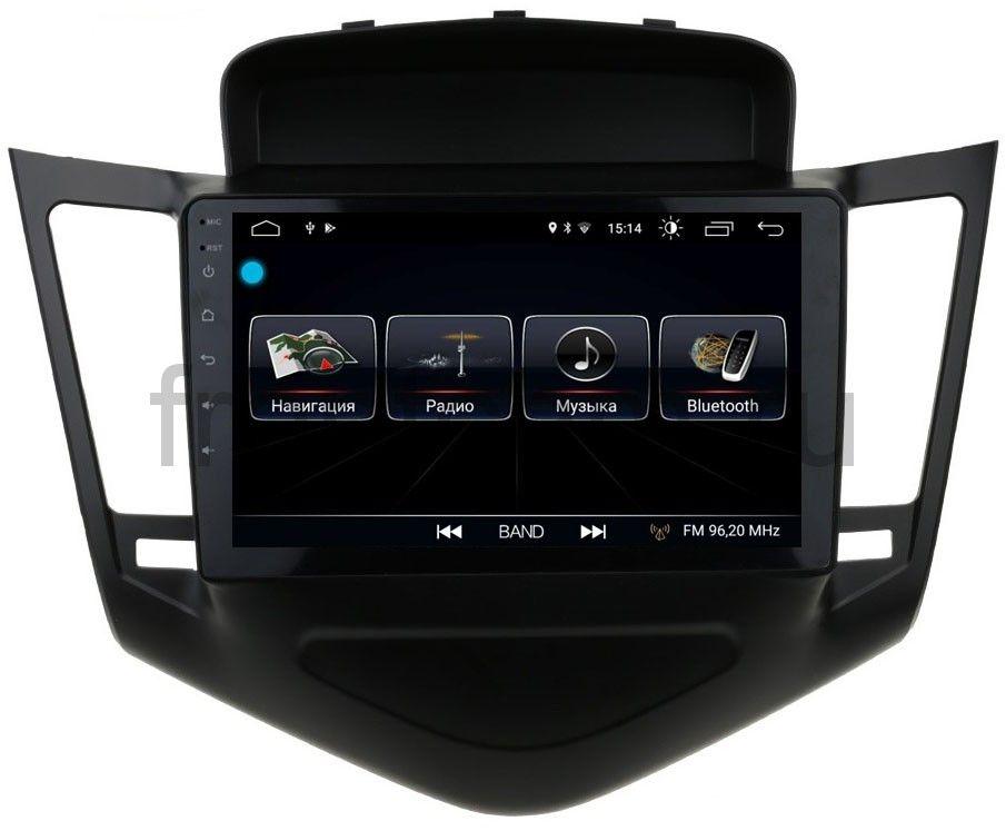 Штатная магнитола LeTrun 1893 для Chevrolet Cruze 2009-2013 на Android 8.0.1 MTK-L 1Gb