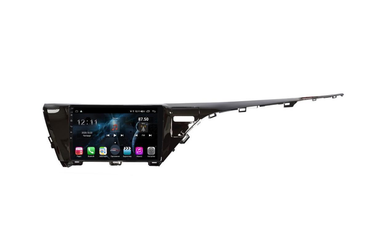 Штатная магнитола FarCar s400 для Toyota Camry 2018+ на Android (TG1069R) (+ Камера заднего вида в подарок!)