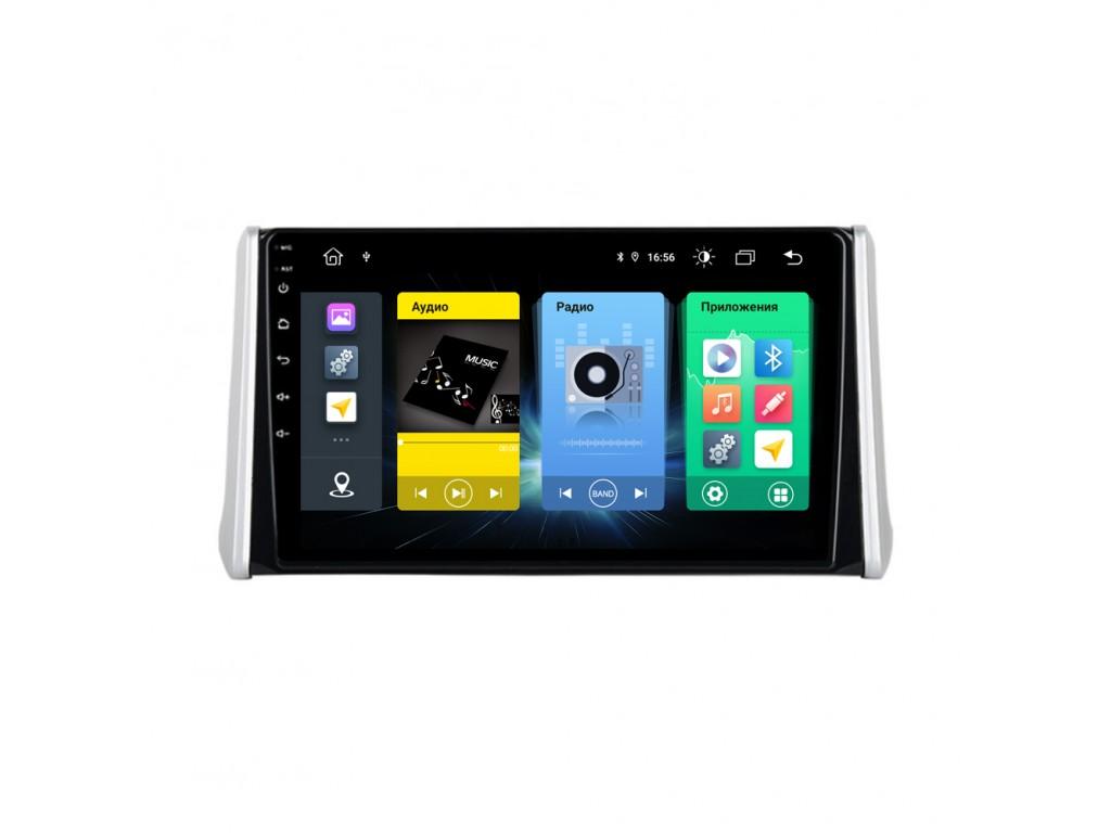 Головное устройство vomi FX366R10-MTK-LTE для Toyota Rav4 2019+ (+ Камера заднего вида в подарок!)