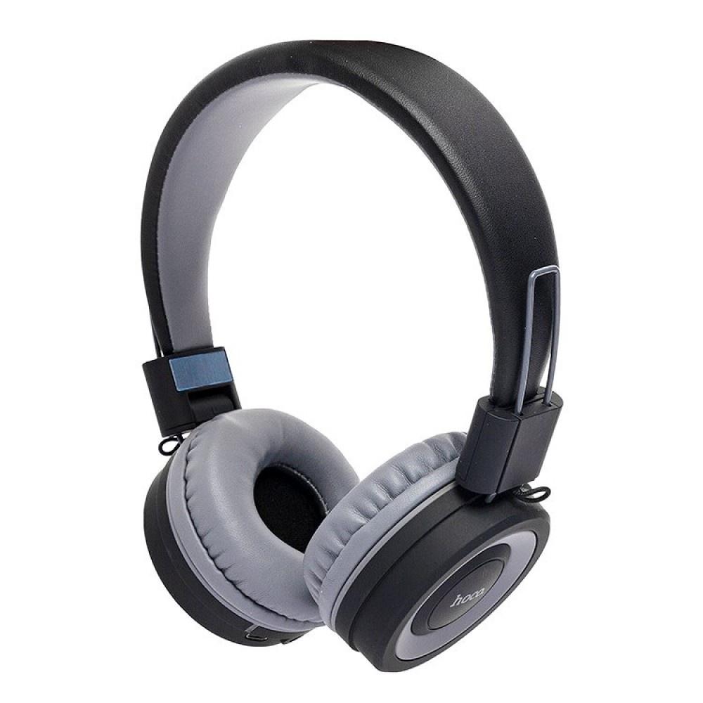 Беспроводные полноразмерные наушники HOCO W16 Extra bass (черные) все цены