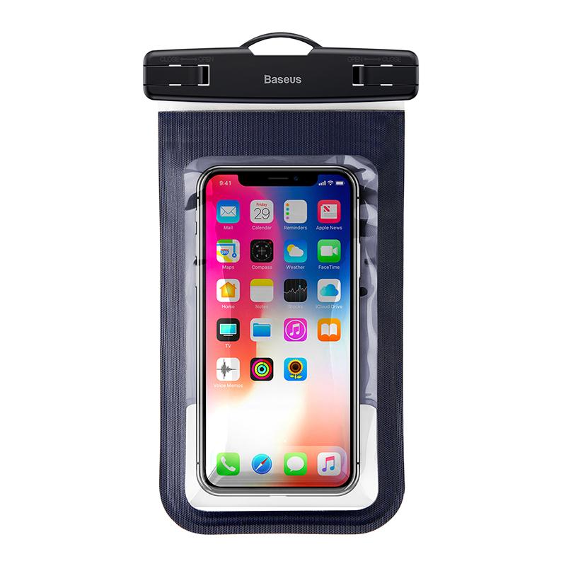 Водонепроницаемый чехол Baseus Multi-functional waterproof bag Blue водонепроницаемый чехол для телефона цена