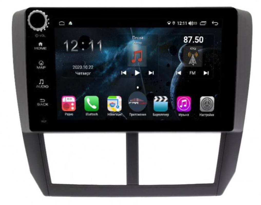 Штатная магнитола FarCar s400 для Subaru Forester на Android (H062RB) (+ Камера заднего вида в подарок!)