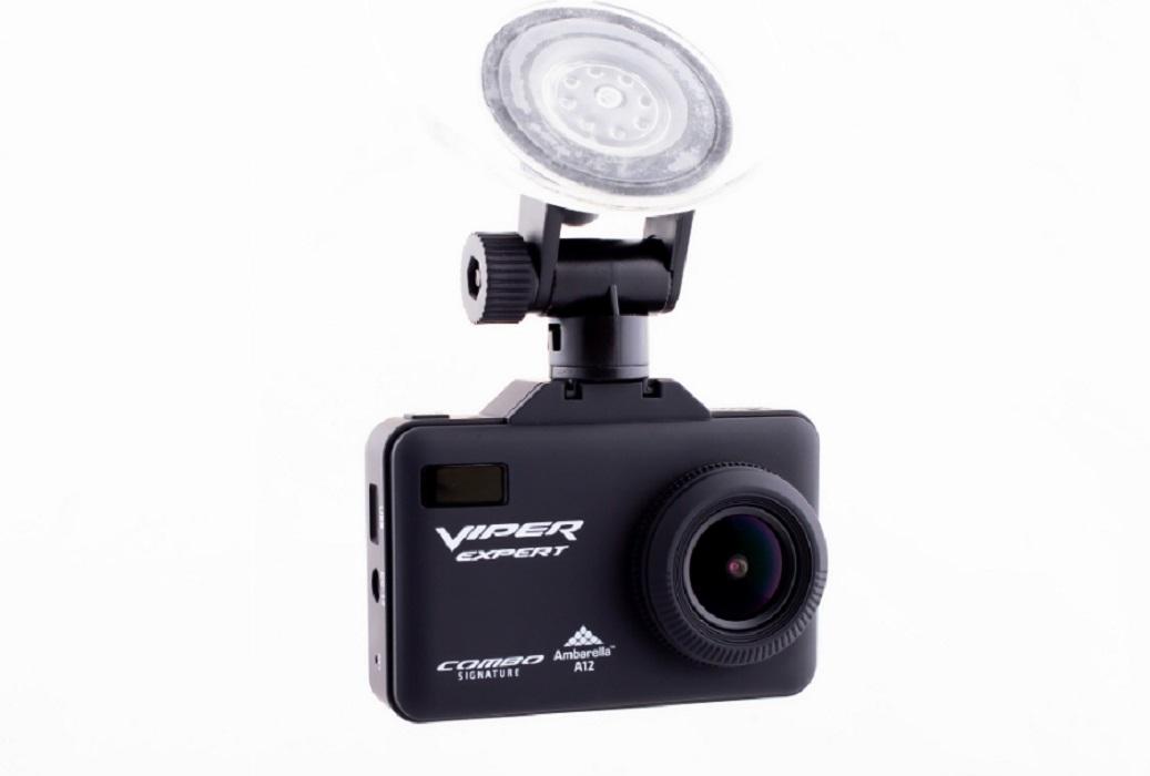 Видеорегистратор с радар-детектором VIPER Combo Expert Signature, GPS, ГЛОНАСС (+ Антисептик-спрей для рук в подарок!)
