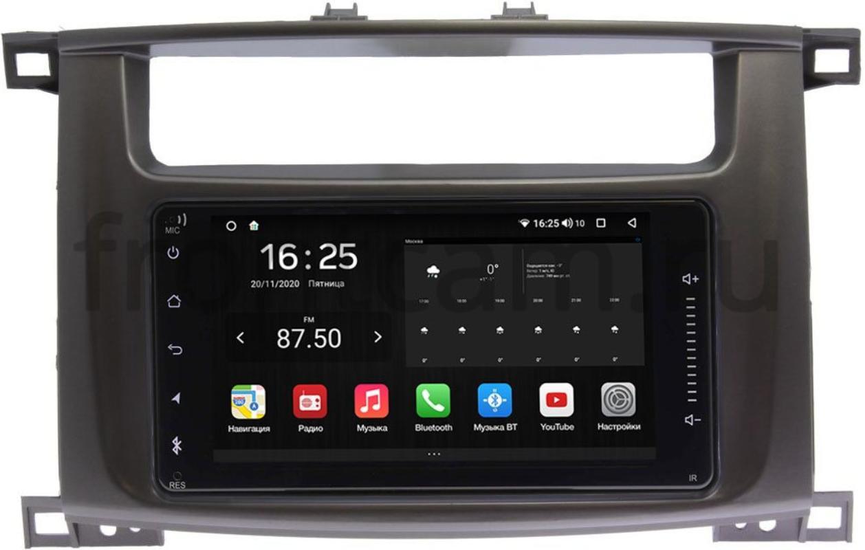 Штатная магнитола Lexus LX II 470 2003-2007 Wide Media KS6901QR-3/32-RP-TYLC1XB-40 на Android 10 (DSP CarPlay 4G-SIM) (+ Камера заднего вида в подарок!)
